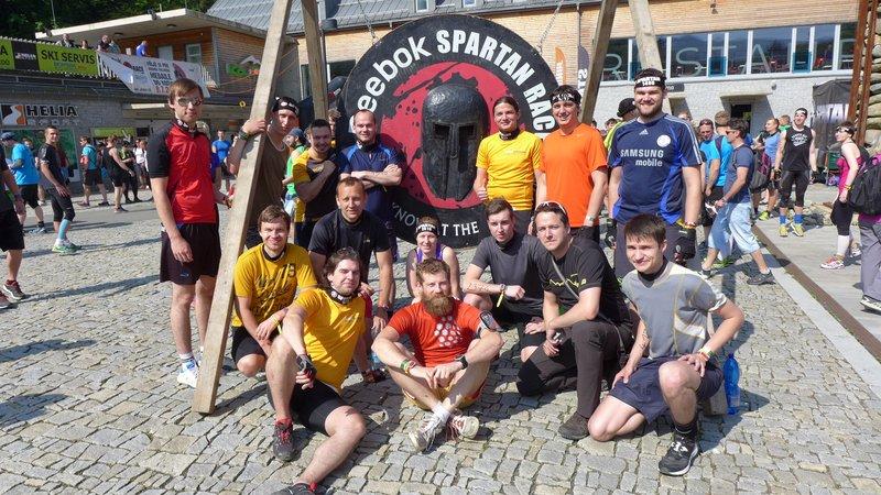 MoroSystems Spartan Race Kouty 2016 tým