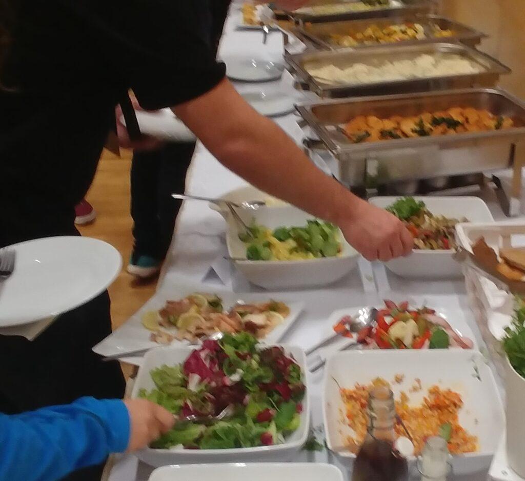 Jídlo na Atlas Campu