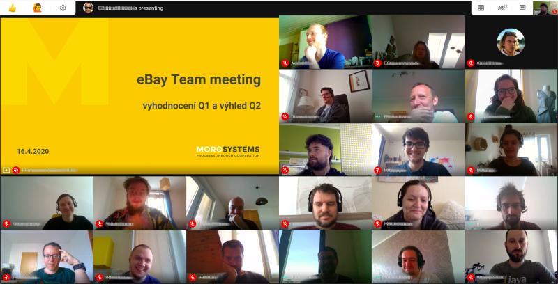 MoroSystems eBay Google Meet 2020